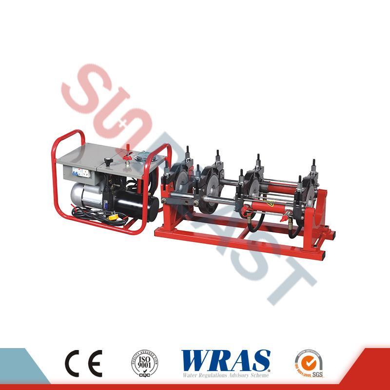 Máy hàn mông thủy lực 160-315mm cho ống nhựa HDPE