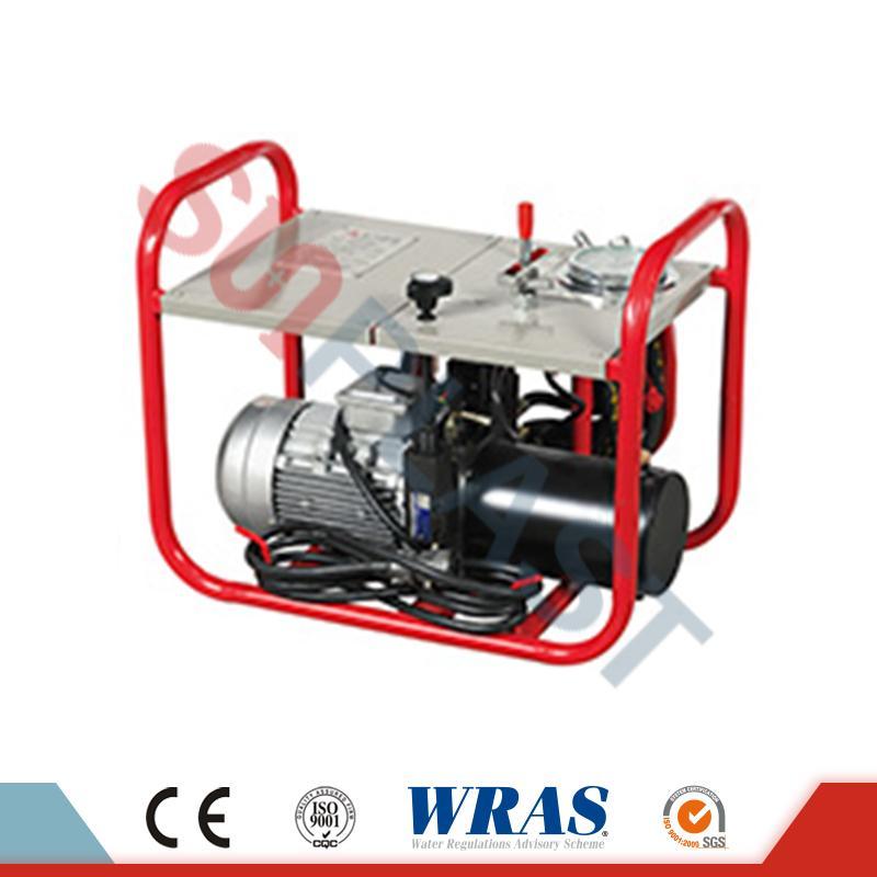Máy hàn mông thủy lực 63-160mm cho ống nhựa HDPE