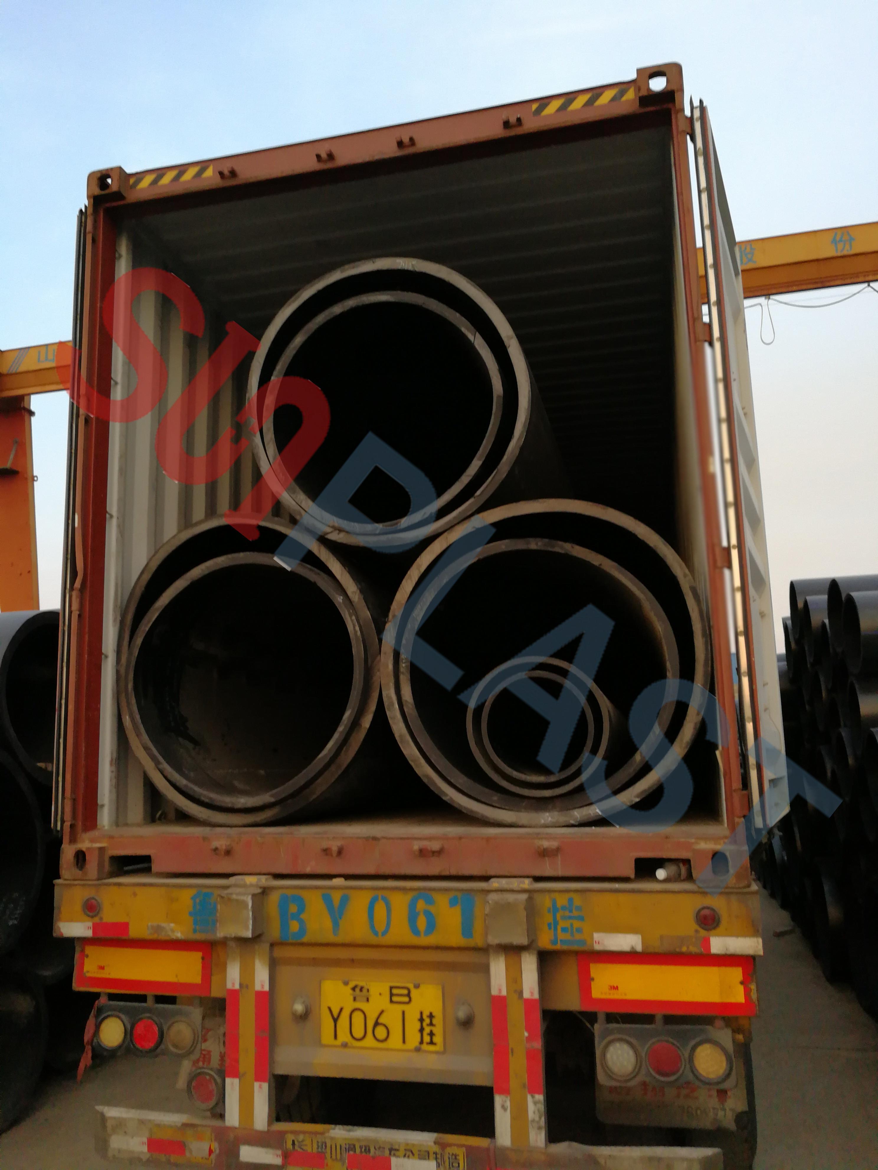 Ống nhựa SUNPLAST DN1000 / DN1200mm đến Úc